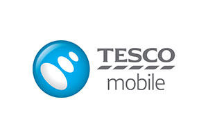 The logo of Tesco Mobile in Ireland