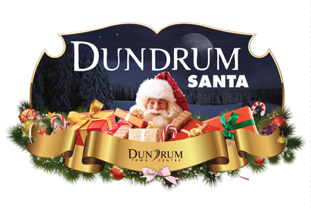 Santa Claus at Dundrum Town Centre