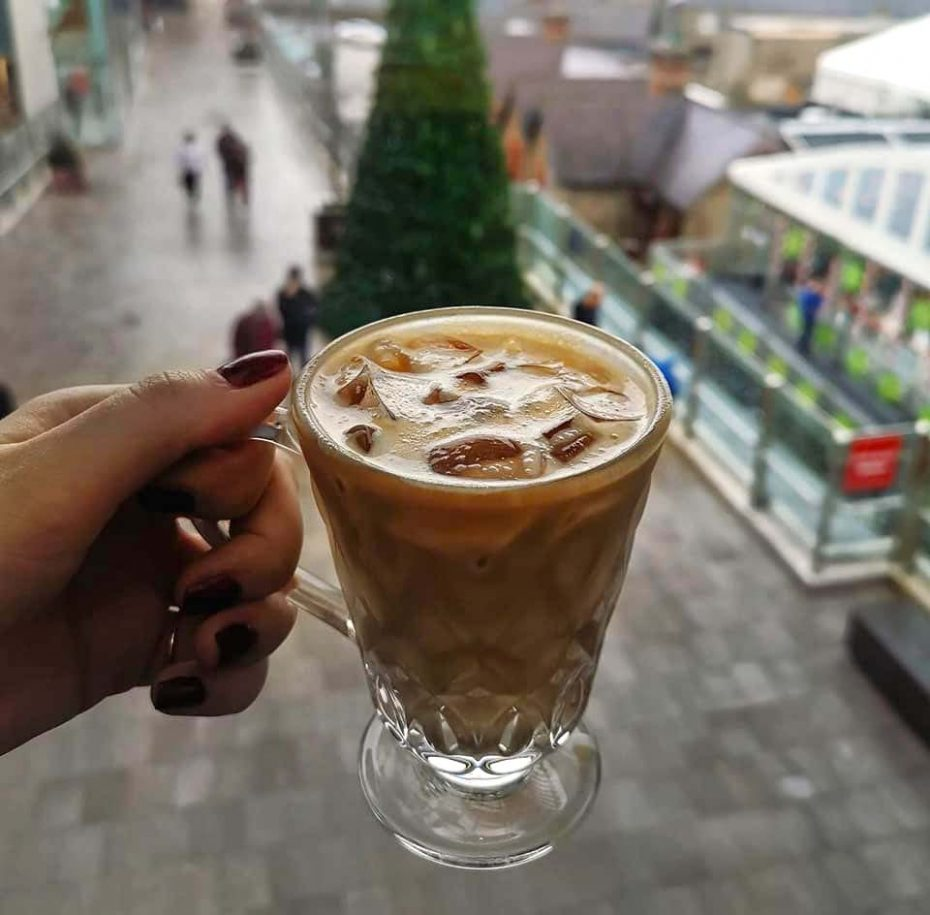 Cookes coffee Dundrum Ice Rink