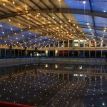 2017 Dundrum On Ice at night
